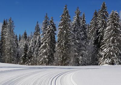 piste de ski de fond Chapelle des Bois